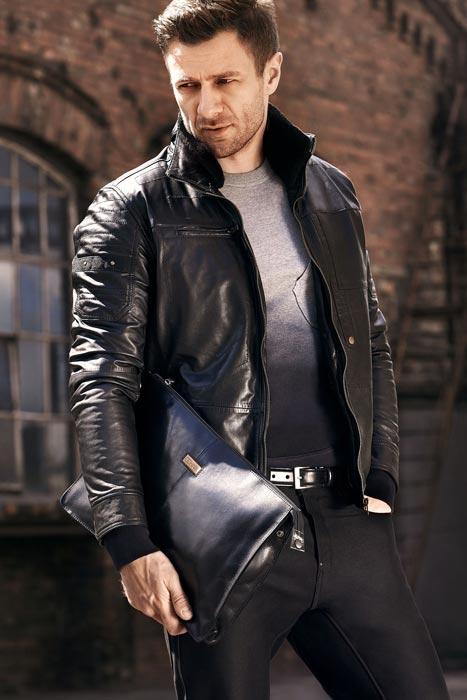Кожаные куртки мужские 3